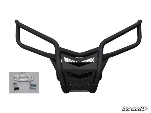 SUPER ATV FRONT BUMPER YAMAHA YXZ - BLACK-15360