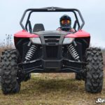 SUPER ATV HIGH CLEARANCE A-ARMS ARCTIC CAT WILDCAT SPORT - BLACK-15546