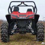SUPER ATV HIGH CLEARANCE REAR A-ARMS ARCTIC CAT WILDCAT SPORT- BLACK-0