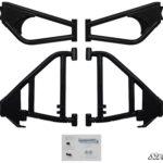 SUPER ATV HIGH CLEARANCE REAR A-ARMS ARCTIC CAT WILDCAT SPORT- BLACK-15536