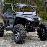 SUPER ATV FLIP WINDSHIELD SCRATCH RESISTANT ARCTIC CAT WILDCAT TRAIL-15530