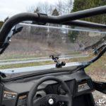 SUPER ATV FLIP WINDSHIELD SCRATCH RESISTANT ARCTIC CAT WILDCAT TRAIL-15532