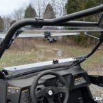 SUPER ATV FLIP WINDSHIELD SCRATCH RESISTANT ARCTIC CAT WILDCAT TRAIL-15533