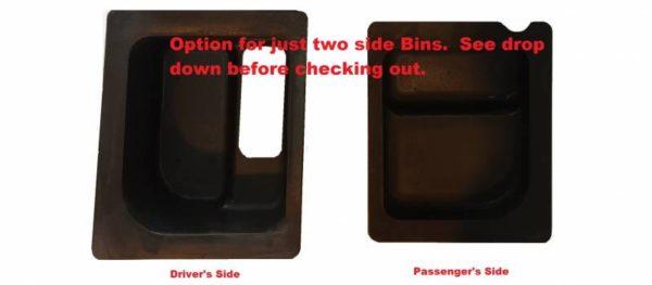EMP UNDER SEAT STORAGE BIN SET POLARIS RANGER MIDSIZE -15570