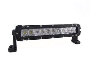 "10"""" LIGHT BAR SINGLE ROW CREE SPOT LIGHT - 50 WATT 5000 LUMEN-0"