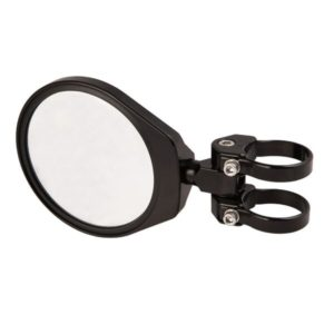 "6"""" CONVEX FOLDING SIDE MIRROR - BLACK-0"