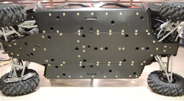 "TRAIL ARMOR SKID PLATE - TRIMMED - POLARIS RZR 4 900 - 1/2"""" UHMW-0"