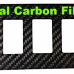 SWITCH PANEL POLARIS RZR 900/RZR XP 1000 - CARBON FIBER-0