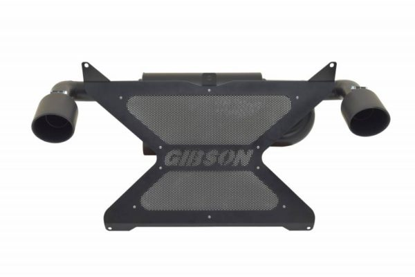 GIBSON DUAL SLIP-ON EXHAUST CAN-AM MAVERICK X3 - BLACK-0