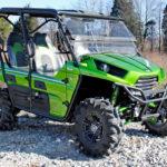 SUPER ATV FLIP WINDSHIELD SCRATCH RESISTANT KAWASAKI TERYX 800/TERYX 4 -16303