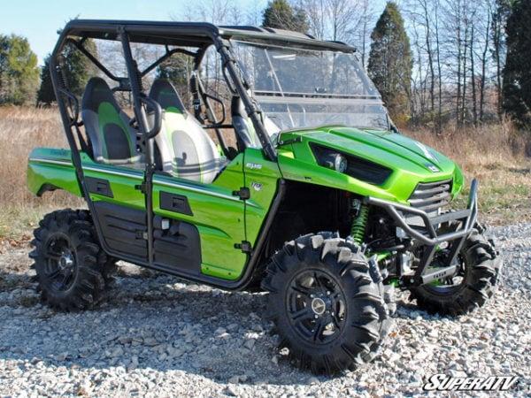 SUPER ATV FLIP WINDSHIELD SCRATCH RESISTANT KAWASAKI TERYX 800/TERYX 4 -16304