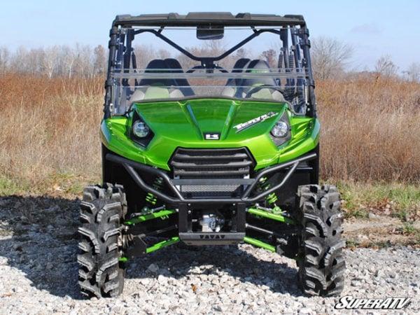SUPER ATV FLIP WINDSHIELD SCRATCH RESISTANT KAWASAKI TERYX 800/TERYX 4 -16305