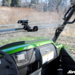 SUPER ATV FLIP WINDSHIELD SCRATCH RESISTANT KAWASAKI TERYX 800/TERYX 4 -16300