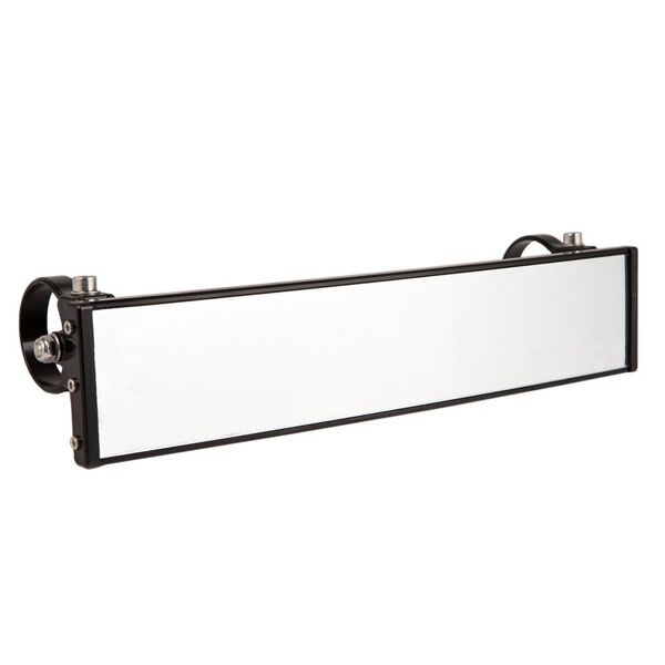 "12"""" PANORAMIC REARVIEW MIRROR WITH 0.5"""" ARMS - BLACK-0"