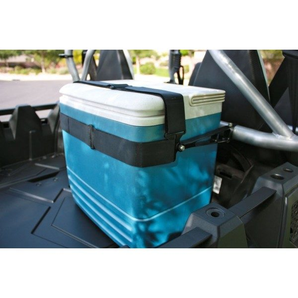 CARGO MOUNTING SYSTEM FOR COOLERS/GAS CANS - BLACK-0