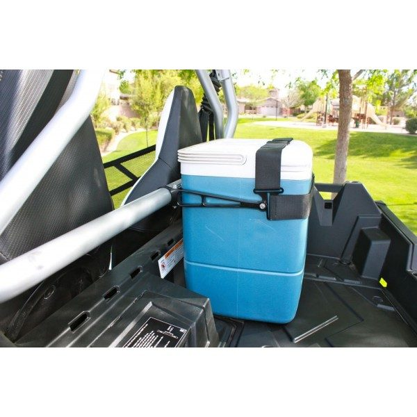 CARGO MOUNTING SYSTEM FOR COOLERS/GAS CANS - BLACK-15819