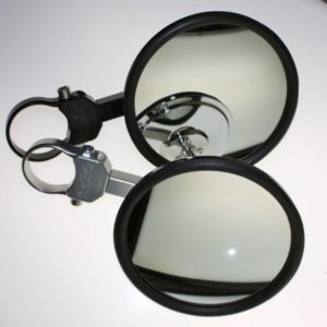 "EXTENDED 5"""" SIDE MIRROR - BLACK-0"