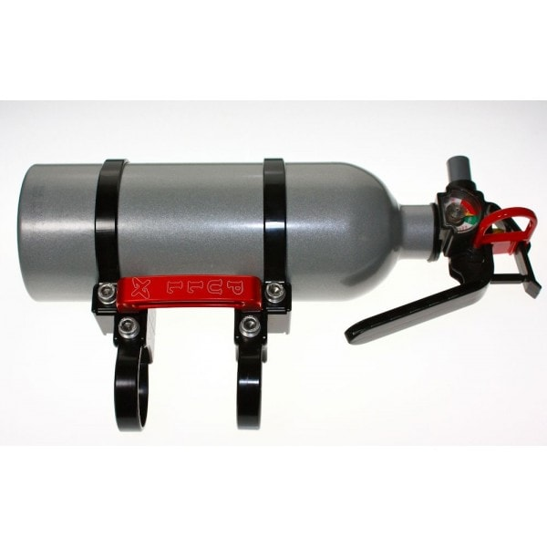 QUICK RELEASE FIRE EXTINGUISHER MOUNT WITH 2.0 LB KIDDE FIRE EXTINGUISHER - BLACK-0