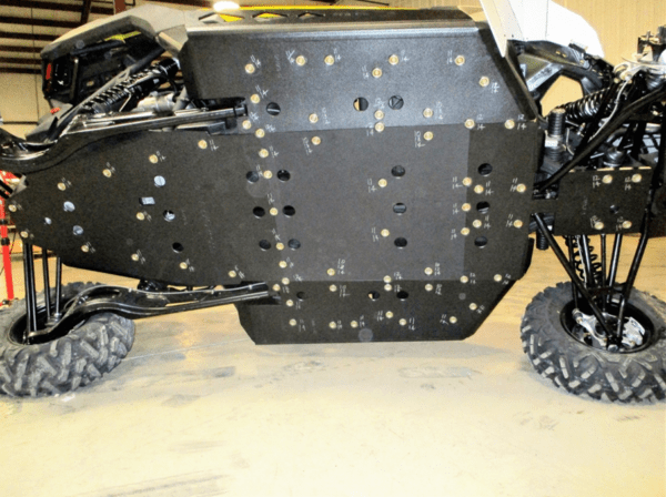 """TRAIL ARMOR SKID PLATE WITH ROCK SLIDERS CAN-AM MAVERICK X3 - 1/2"""""""" UMHW-16178"""