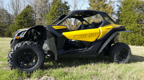 """TRAIL ARMOR SKID PLATE WITH ROCK SLIDERS CAN-AM MAVERICK X3 - 1/2"""""""" UMHW-16177"""
