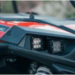 RIGID 2014-2016 POLARIS RZR XP 1000 HEADLIGHT MOUNT KIT - STAINLESS STEEL-16008