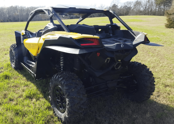 """TRAIL ARMOR SKID PLATE WITH ROCK SLIDERS CAN-AM MAVERICK X3 - 1/2"""""""" UMHW-16176"""