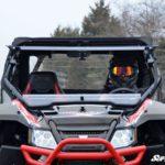 SUPER ATV FLIP WINDSHIELD SCRATCH RESISTANT ARCTIC CAT WILDCAT 1000-16563
