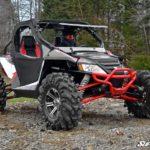 SUPER ATV FLIP WINDSHIELD SCRATCH RESISTANT ARCTIC CAT WILDCAT 1000-16564