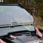 SUPER ATV FLIP WINDSHIELD SCRATCH RESISTANT ARCTIC CAT WILDCAT 1000-0