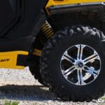 SUPER ATV EXTENDED REAR TRAILING ARMS CAN-AM COMMANDER - YELLOW-16662