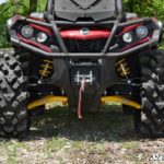 SUPER ATV HIGH CLEARANCE LOWER A-ARMS CAN-AM OUTLANDER/RENEGADE GEN 2 - YELLOW-0