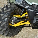 "SUPER ATV HIGH CLEARANCE 1.5"""" FORWARD OFFSET A-ARMS CAN-AM OUTLANDER/RENEGADE GEN 2 - BLACK-16616"