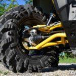 "SUPER ATV HIGH CLEARANCE 1.5"""" FORWARD OFFSET A-ARMS CAN-AM OUTLANDER/RENEGADE GEN 2 - BLACK-16615"