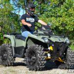 "SUPER ATV HIGH CLEARANCE 1.5"""" FORWARD OFFSET A-ARMS CAN-AM OUTLANDER/RENEGADE GEN 2 - BLACK-16619"