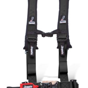 "DRAGONFIRE H-STYLE 4-POINT 2"""" HARNESS - BLACK-0"