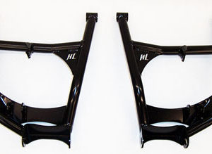 HIGH LIFTER HIGH CLEARANCE REAR LOWER A-ARMS HONDA PIONEER 1000 - BLACK-0