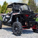 SUPER ATV REAR WINDSHIELD POLARIS RZR XP 1000 - TINTED-16370