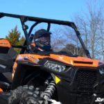 SUPER ATV FULL WINDSHIELD SCRATCH RESISTANT POLARIS RZR 900/XP 1000 - LIGHT TINT-16385