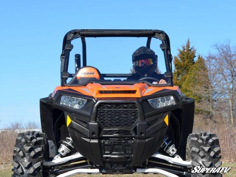 SUPER ATV FULL WINDSHIELD POLARIS RZR 900/XP 1000 - CLEAR-0