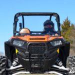 SUPER ATV FULL WINDSHIELD SCRATCH RESISTANT POLARIS RZR 900/XP 1000 - LIGHT TINT-0