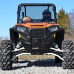 SUPER ATV FULL WINDSHIELD SCRATCH RESISTANT POLARIS RZR 900/XP 1000 - LIGHT TINT-16386