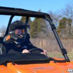 SUPER ATV FULL WINDSHIELD SCRATCH RESISTANT POLARIS RZR 900/XP 1000 - LIGHT TINT-16388