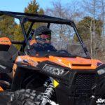 SUPER ATV HALF WINDSHIELD POLARIS RZR 1000/900 - DARK TINT-16342