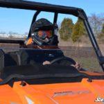 SUPER ATV HALF WINDSHIELD POLARIS RZR 900/XP 1000 - LIGHT TINT-16343