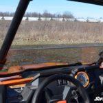 SUPER ATV HALF WINDSHIELD POLARIS RZR 900/XP 1000 - LIGHT TINT-16344