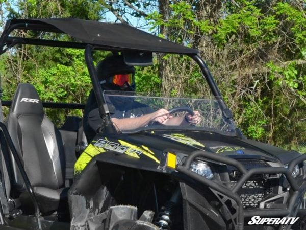SUPER ATV HALF WINDSHIELD POLARIS RZR -0