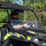 SUPER ATV HALF WINDSHIELD POLARIS RZR -16331