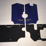 GRIZZZTEK FULL COVERAGE GUARD SET RADIATOR/BATTERY BOX/FUEL TANK POLARIS GENERAL 1000 - ORANGE-0