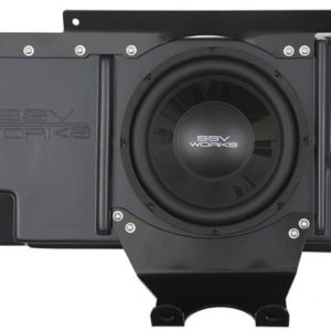 "SSV WORKS AMPLIFIED SUBWOOFER 10"""" BEHIND SEAT POLARIS RZR XP 1000-0"