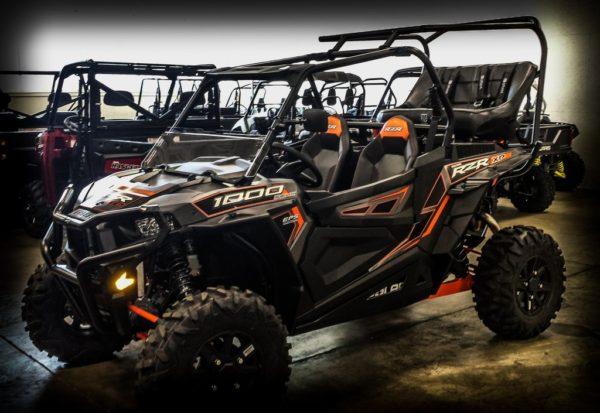"""REAR CAGE WITH 42"""""""" BENCH SEAT AND 2 HARNESSES POLARIS RZR XP 1000-16742"""